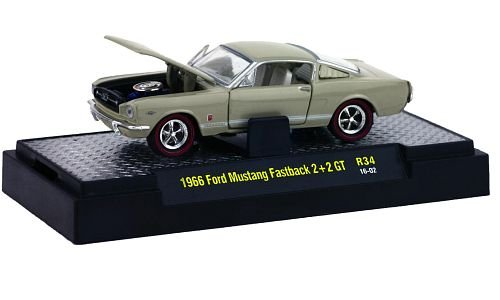 Ford Mustang Fastback 2+2 GT 1:64, M2 Machines
