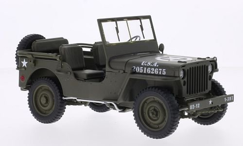 Willys Jeep 1:18, Welly