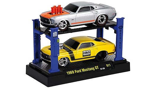Ford Mustang GT Tuning 1:64, M2 Machines