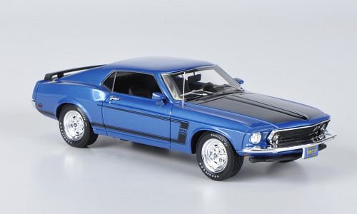Ford Mustang Boss 302 1:43, Highway 61