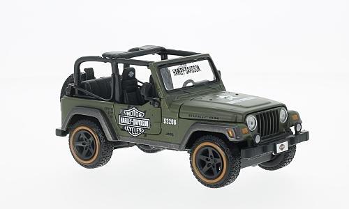 Jeep Wrangler Rubicon 1:24, Maisto