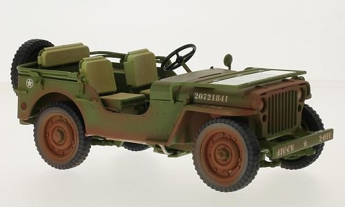 Jeep Willys 1:18, Triple 9 Collection