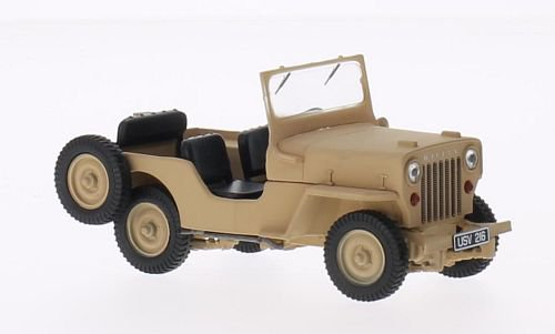Jeep Willys CJ3B 1:43, Triple 9 Collection