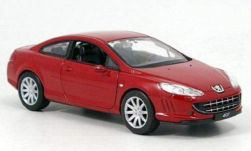 Peugeot 407 Coupe 1:24, Welly