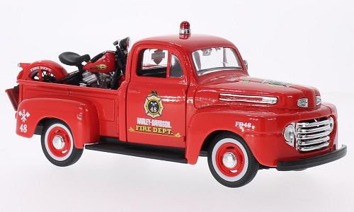 Ford + Harley Davidson F-1 Pick Up 1:24, Maisto