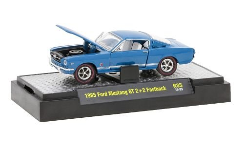 Ford Mustang GT 2+2 Fastback 1:64, M2 Machines