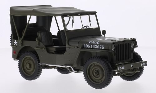Jeep Willys 1:18, Welly
