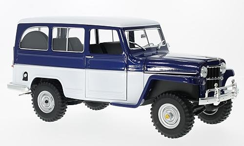 Jeep Willys Station Wagon 1:18, Lucky Die Cast