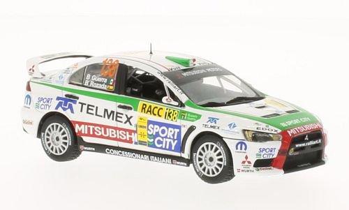 Mitsubishi Lancer Evolution X 1:43, Vitesse
