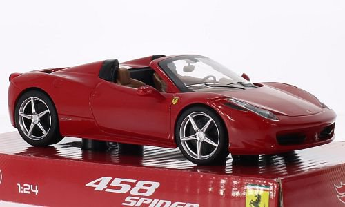 Ferrari 458 Spider 1:24, Mattel