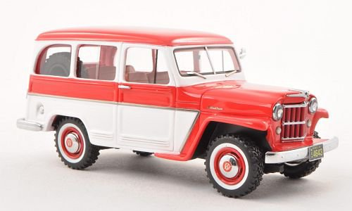 Jeep Willys Station Wagon 1:43, Neo Limited 300